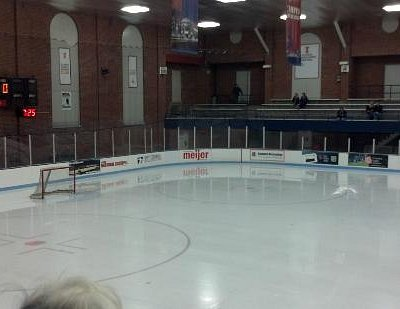 East End of the UofI Ice Arena