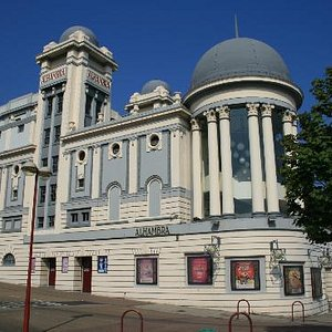 The Alhambra Theatre from the side