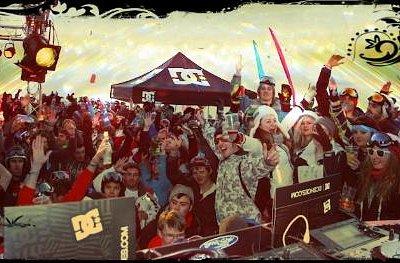 DJ view 360 Bar Val Thorens