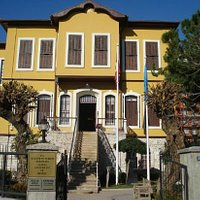 Atatürk evi in Alanya, Antalya, Turkey