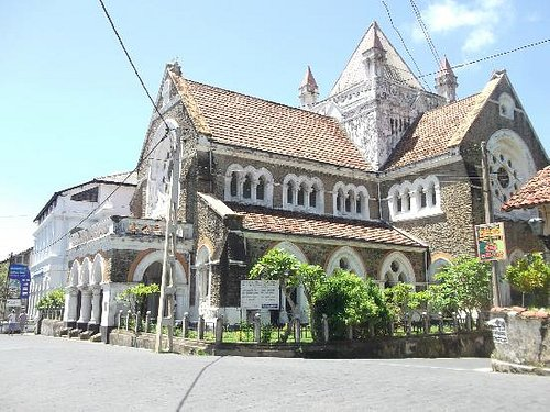 The church at mid day