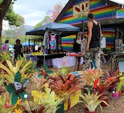 Nimbin Markets, colourful, vibrant and a treasured community assett...