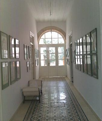 View from the main entrance