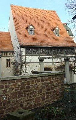 Geburtshaus vom Innenhof