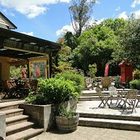 Lovely patio and grounds