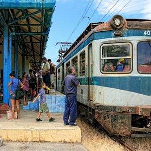 Hershey Electric Railway, Cuba. Hershey station.