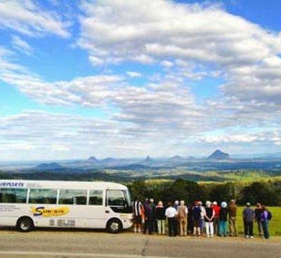 Sun-air showcases amazing Sunshine Coast Hinterland views