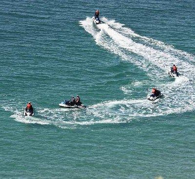 Adrenalin Jet Ski Tours, cruise the entire breathtaking coastline, or the 90 min option.