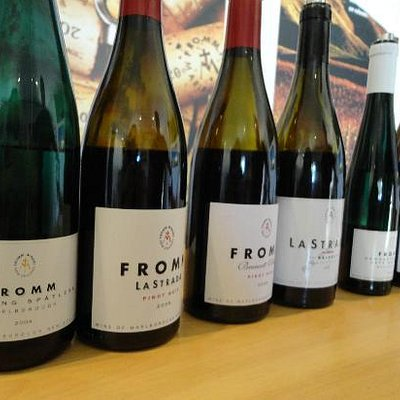 December 2011 - The Riesling was my absolute favorite!