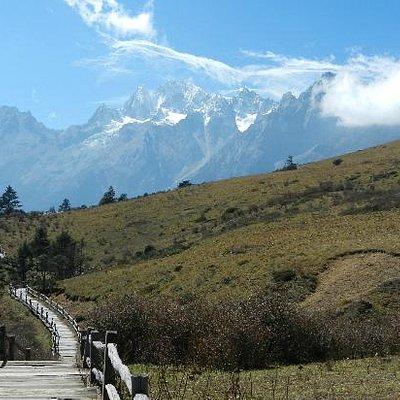 Yulong mountain