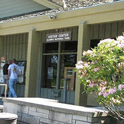 Olympic National Park - Visitor Center Entrance