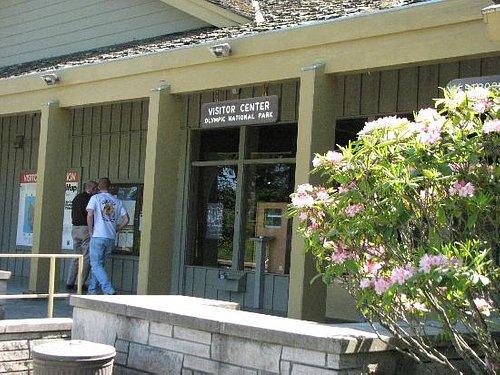 Olympic National Park - Visitor Center Entrance
