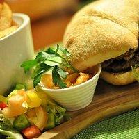 Beef & Piggy Burger