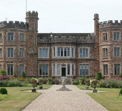 Mount Edgcumbe House from the earl's garden
