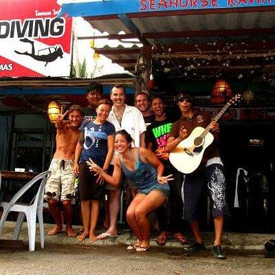 Local diving team