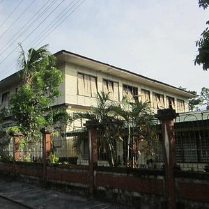The two storeyed school building