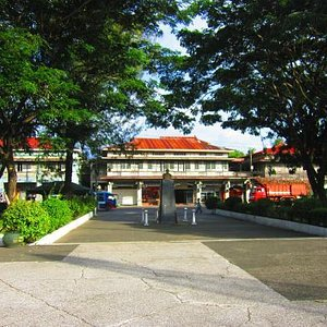 Manuel dela Rama Locsin house - seen from across the Public Plaza