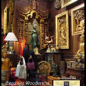Welcome to the wonderful world of exquisite Thai woodcarving at Tiki Thai Arts!