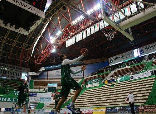 Il PalaEstra, casa della Mens Sana Basket