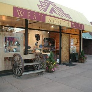 Look for the wagon wheel bench