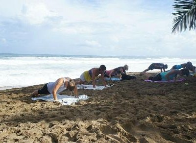 Rincon Beach Body Boot Camp at Sandy Beach