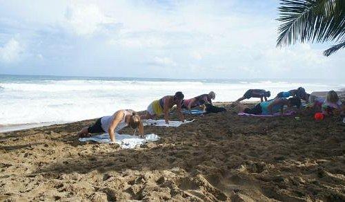 Rincon Beach Body Boot Camp at Sandy Beach