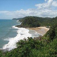 Praia de São José (mirante da trilha)