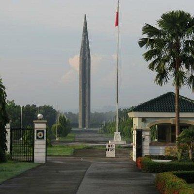 Capas shrine from the entrance