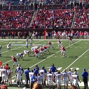 seats from the 50 yard line.