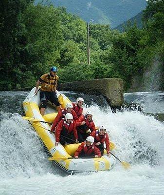 rafting nel cilento