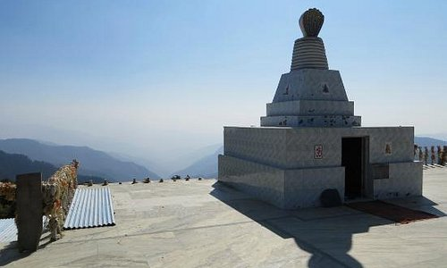 Temple at the top