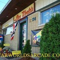 Star Worlds Arcade Storefront