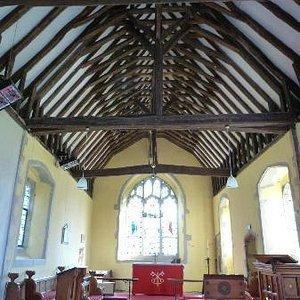 Oare Church interior