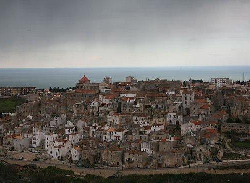Vista panoramica di Vico del Gargano
