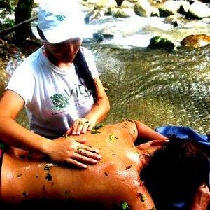 Exfoliacion en el Rio