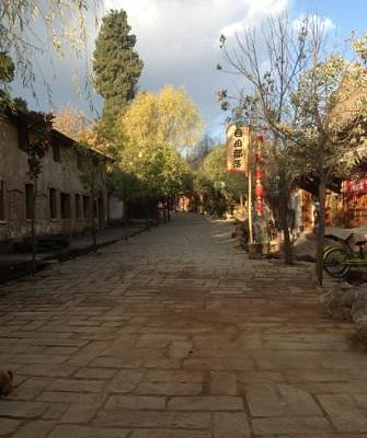 Sideng street, Shaxi town