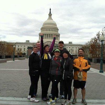 DC Mall 10K Running Tour 11/24/2012