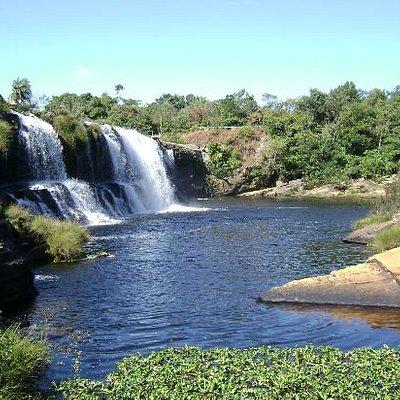 Cachoeira Grande by Bela Geraes, vista de baixo