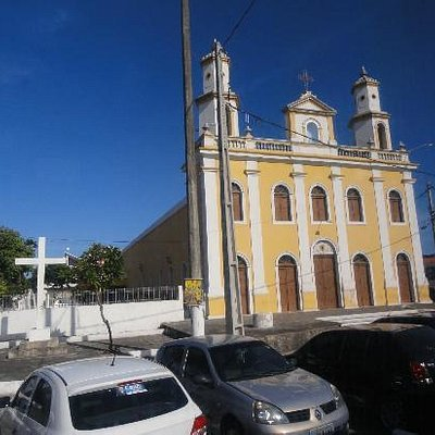 Igreja no centro de Cabedelo,próximo do porto