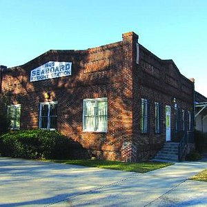 Muse Arts Warehouse, in the historic Seaboard Freight Station