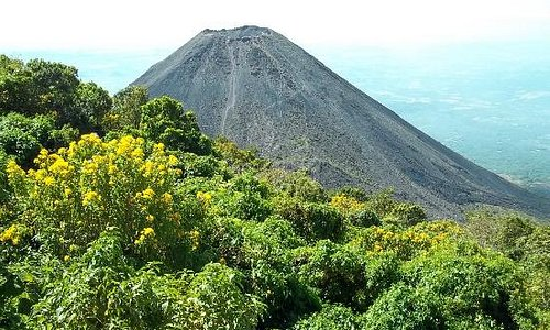 View of the Izalco Volcano