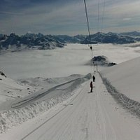 on top of the world in Davos