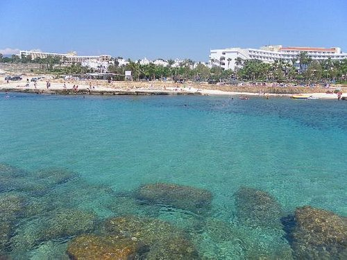 View of the beach - Beautiful crystal clear waters