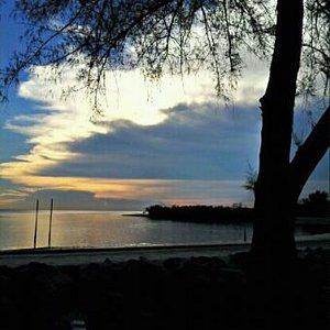 sunset at bagan beach