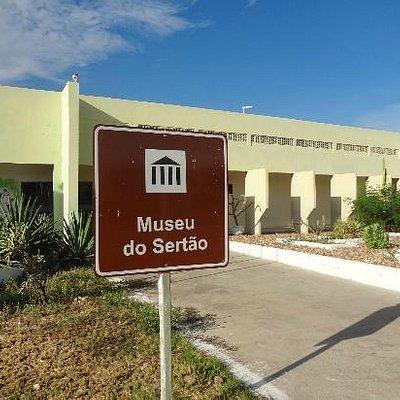 Fachada de entrada do Museu do Sertão