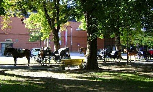 Parque Hofgarten, Innsbruck, Austria.