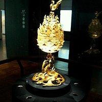 Gilt-bronze Incense Burner of Baekje