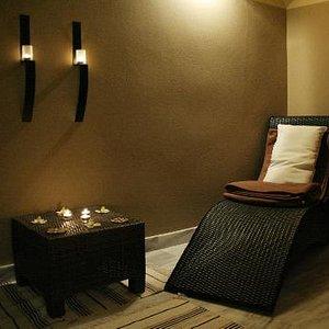 relaxing room in Darsana ayurvedic centre