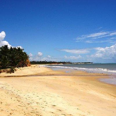 Praia maravilhosa!