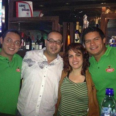 the great staff at El Muro